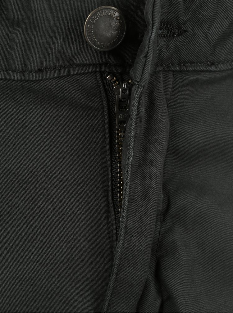 Tmavosivé nohavice s vreckami Shine Original