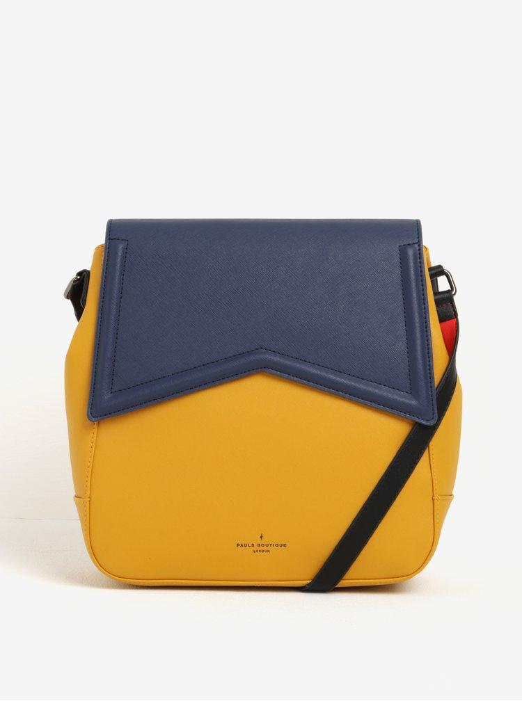 Geanta 2in1 albastru cu galben Paul's Boutique Zena