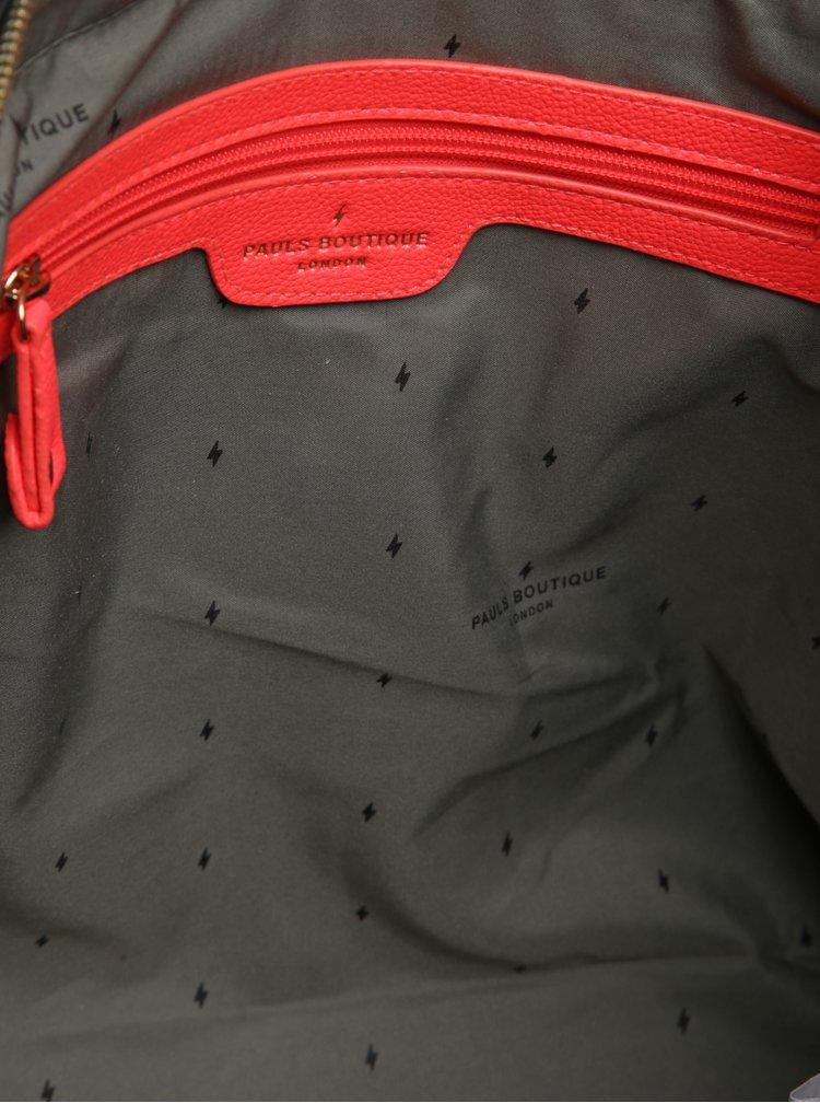 Tmavě šedá kabelka Paul's Boutique Florence