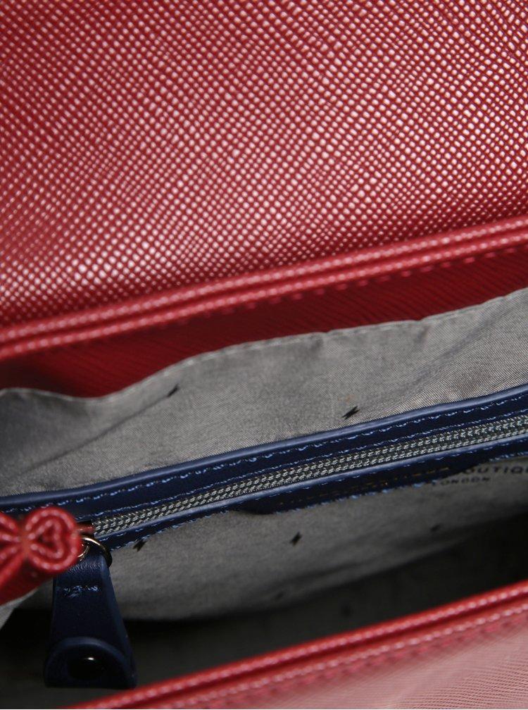 Rucsac bordo cu detaliu din piele intoarsa  Paul's Boutique Erin