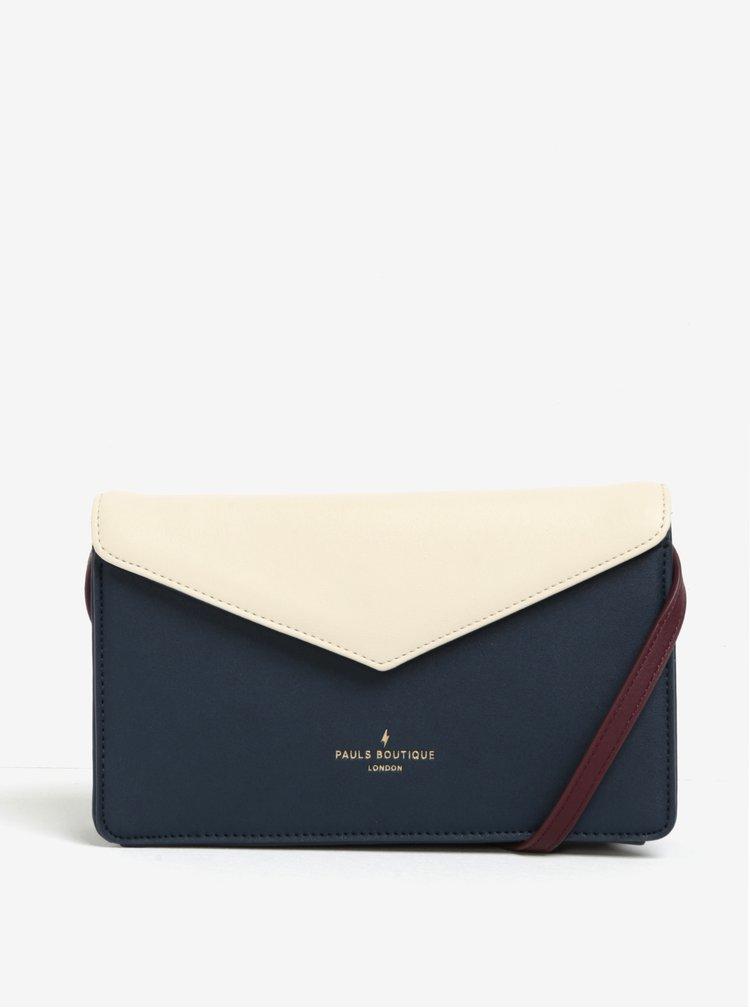 Modro-krémové psaníčko/crossbody kabelka Paul's Boutique Camilla