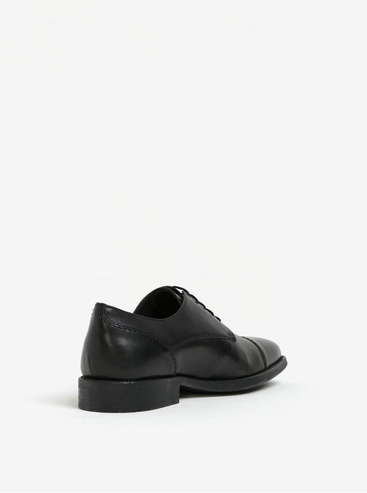 Pantofi negri din piele pentru barbati -  Geox Federico