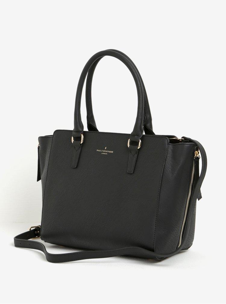 Černá kabelka s odnímatelným popruhem Paul's  Boutique Pamela