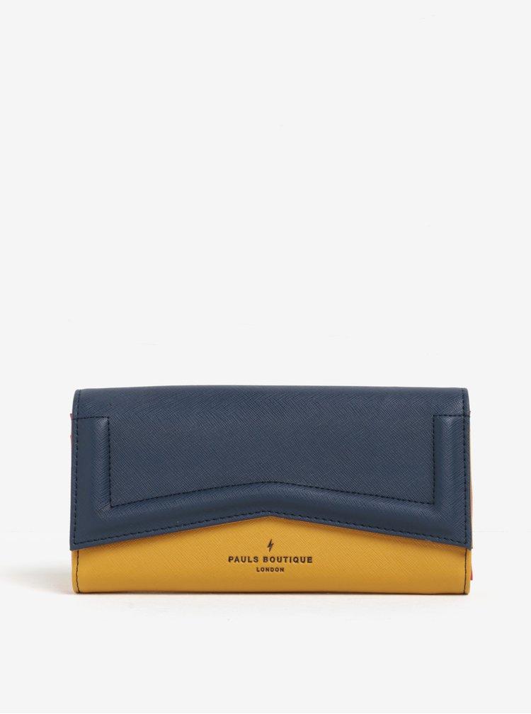 Portofel albastru inchis&galben inchis Paul's Boutique Lane