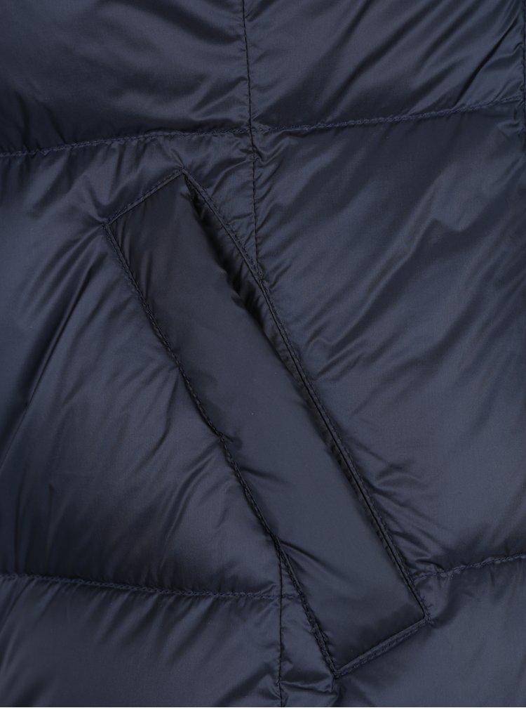 Geaca scurta matlasata bleumarin pentru femei Geox