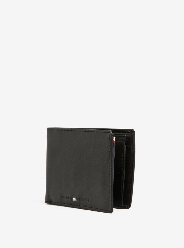 Černá pánská kožená peněženka Tommy Hilfiger Icons