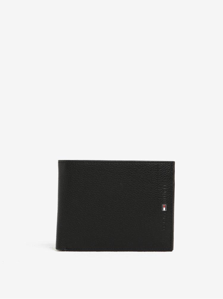 Černá pánská kožená peněženka Tommy Hilfiger Core