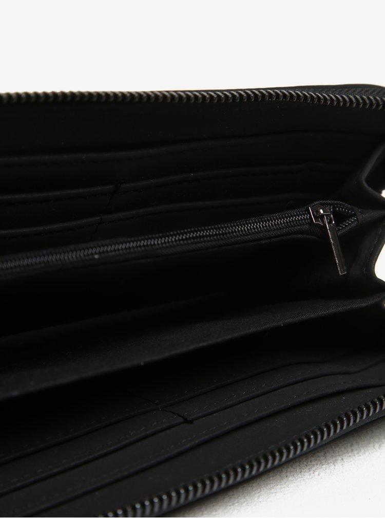 Černá peněženka na zip Nalí