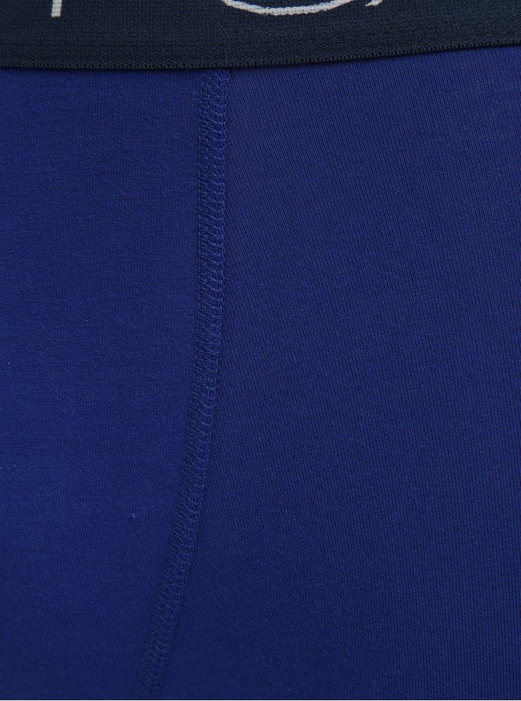 Sada tří tmavě modrých pánských boxerek GANT