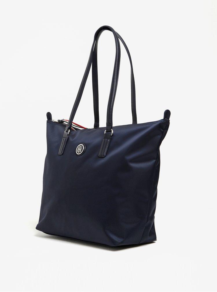 Tmavě modrá kabelka Tommy Hilfiger Poppy