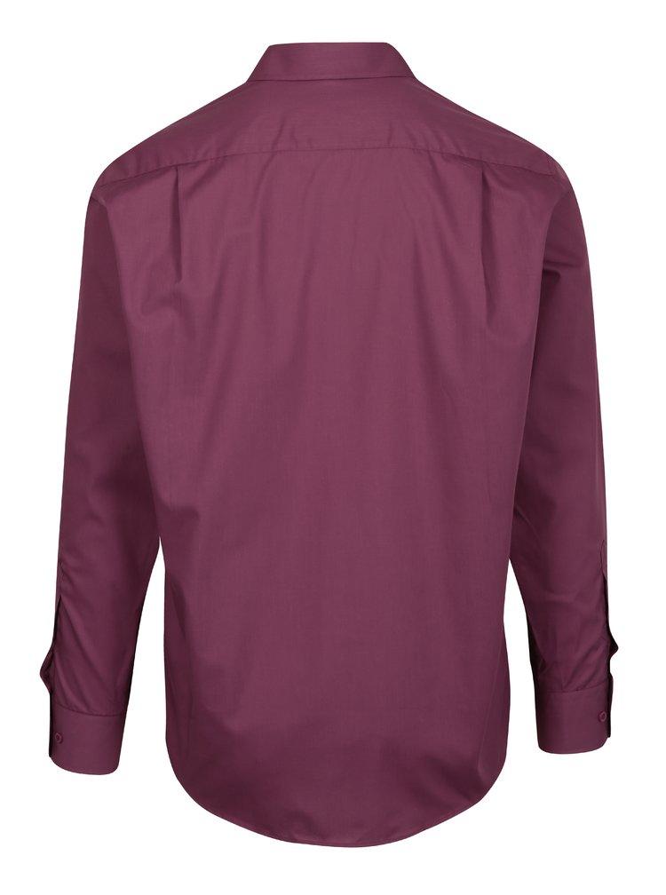 Fialová formální regular fit košile Braiconf Baltazar