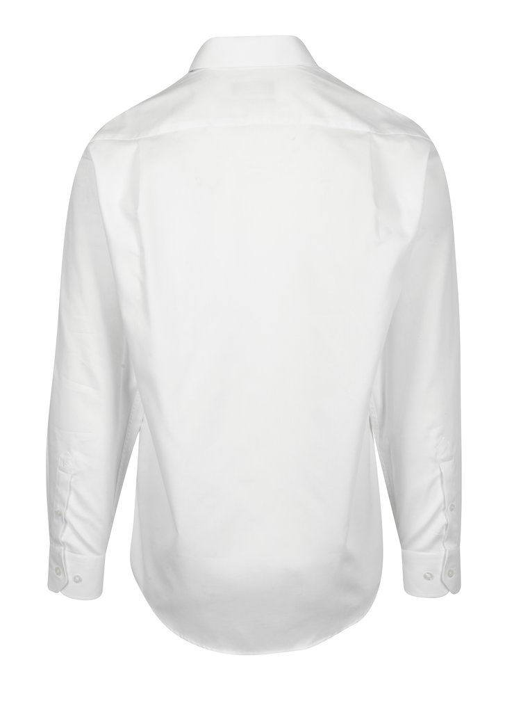 Bílá formální regular fit košile Braiconf Cristian