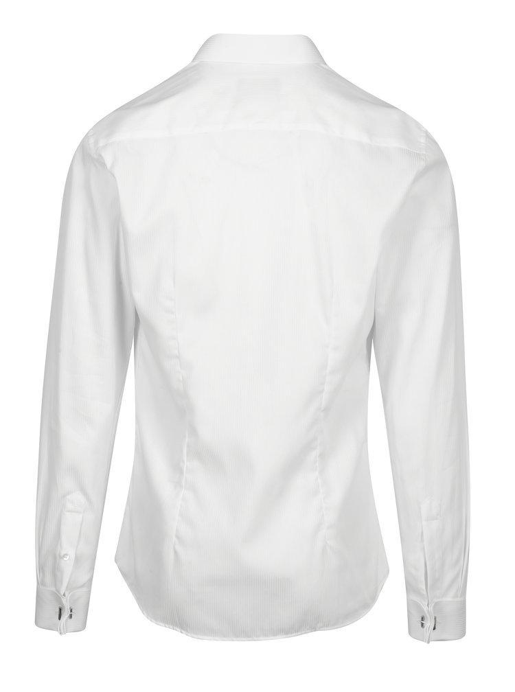 Cămașă albă super slim fit Braiconf Costin
