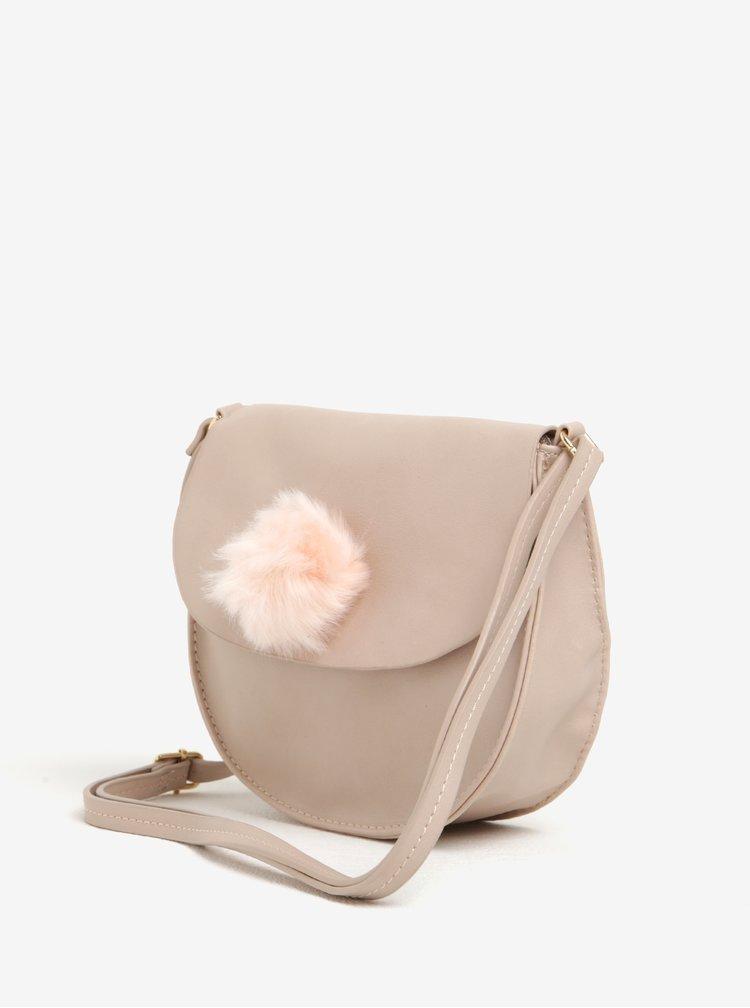 Geanta roz cu pompon Haily´s Pommy