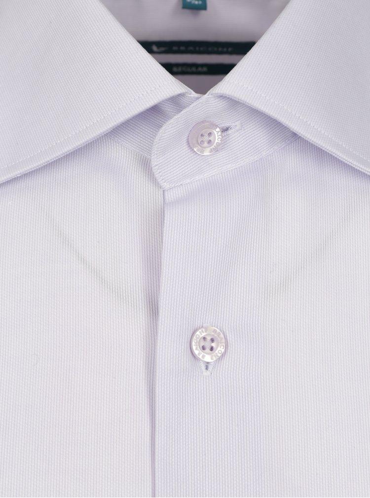 Světle fialová formální regular fit košile Braiconf Flaviu