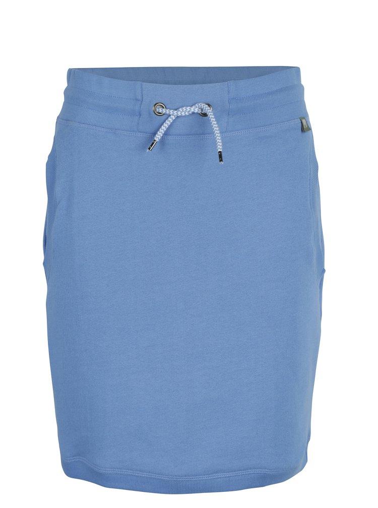 Modrá tepláková sukně s kapsami Tranquillo Amaia