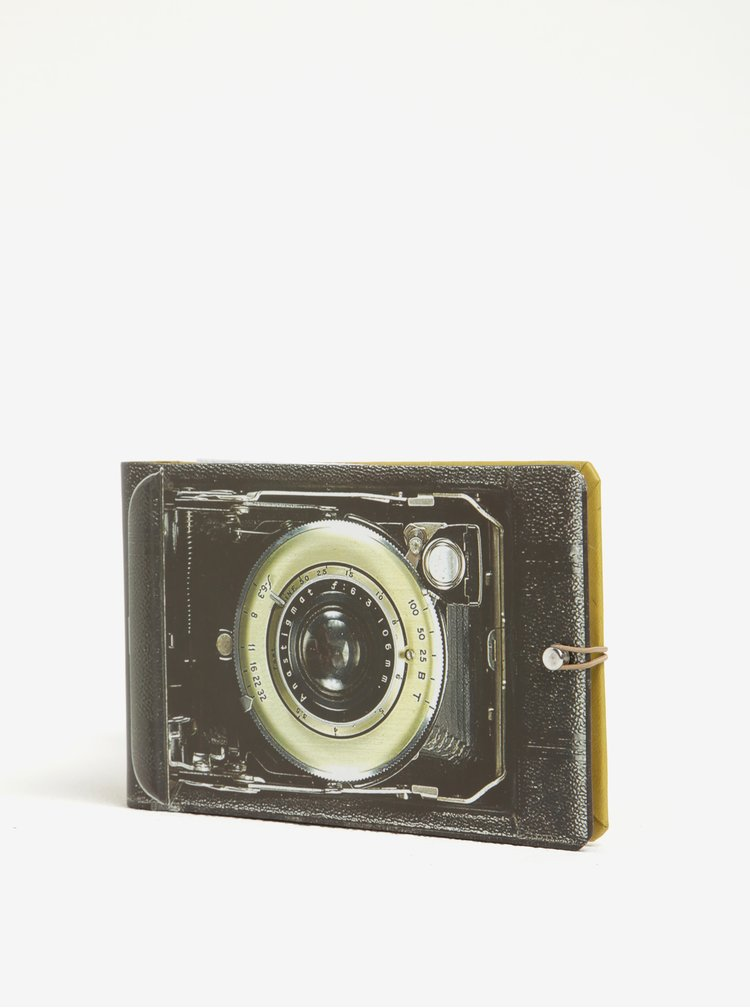 Album foto maro cu print cameră foto vintage Galison