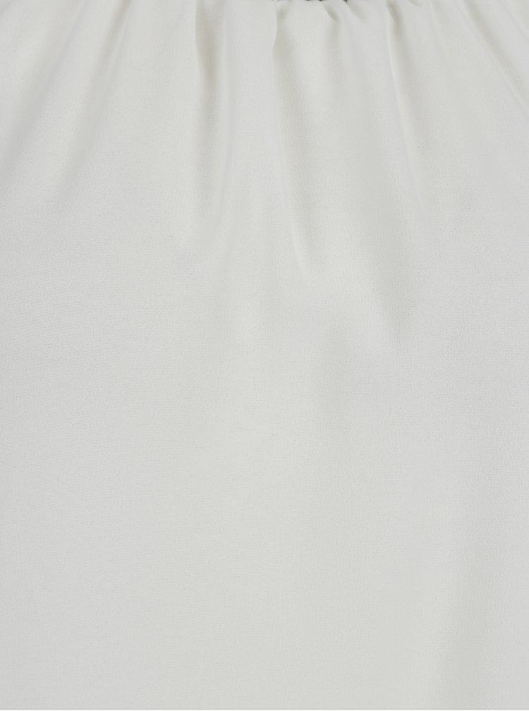 Bílá halenka s korálkovým zdobením Haily´s Lucille