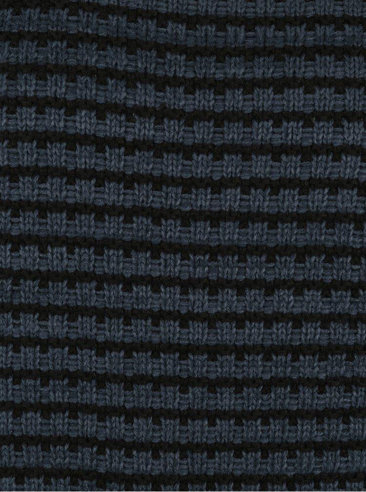 Černo-modrý pruhovaný svetr ONLY & SONS Tyson