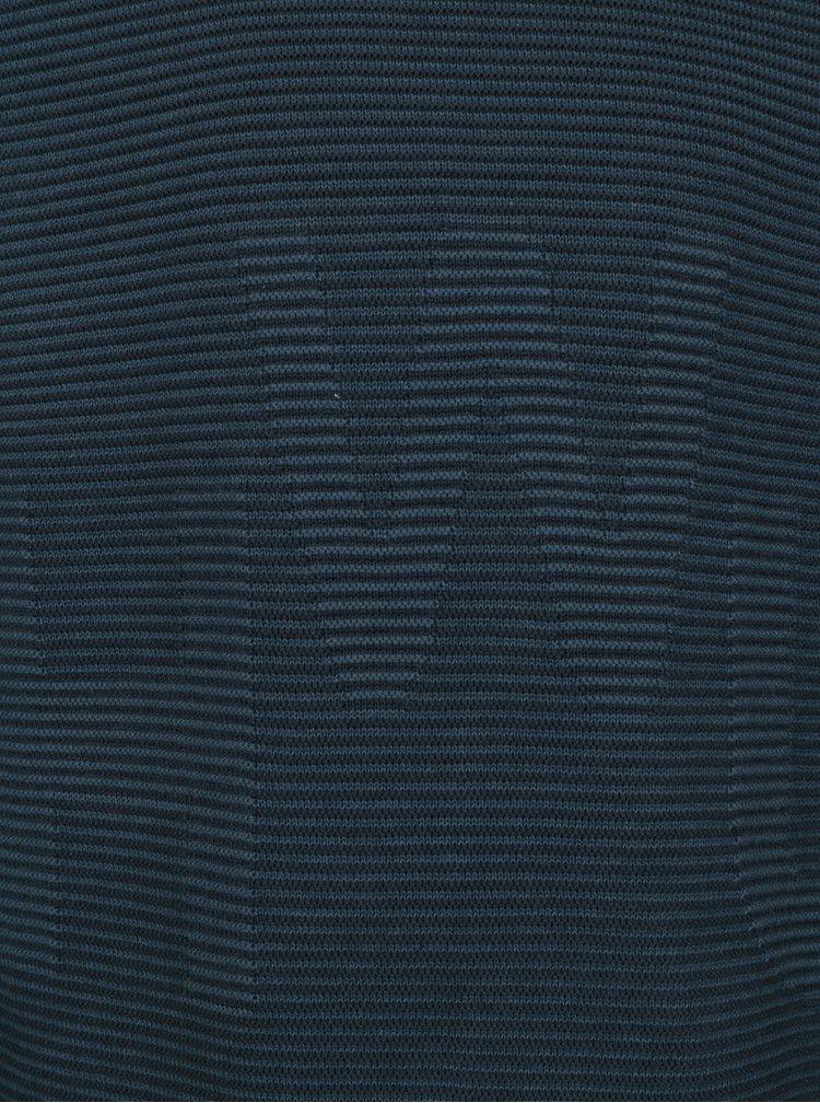 Tmavě modrý klučičí žebrovaný svetr name it Juffe