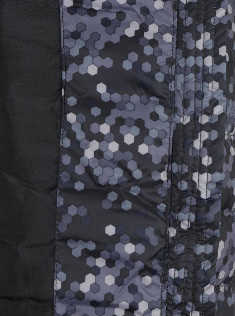 Geaca gri cu print matlasata impermeabila pentru femei LOAP Icrena