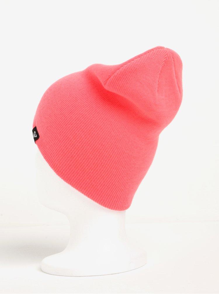 Neonově růžová dámská čepice Roxy Dare Dream