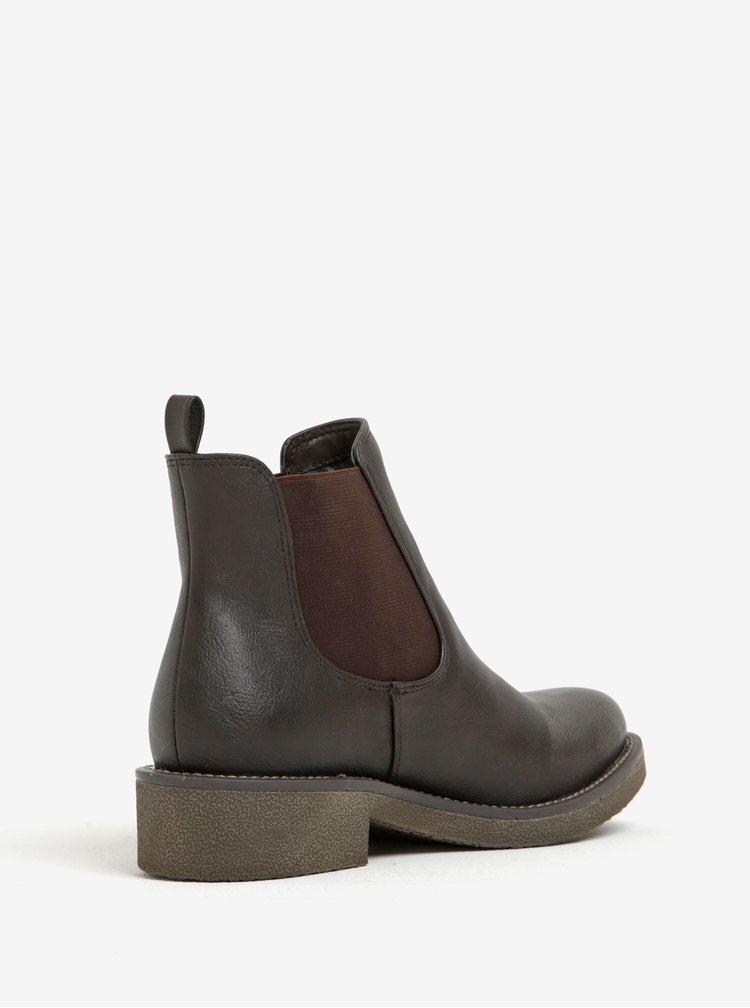 Tmavě hnědé chelsea boty U.S. Polo Assn.