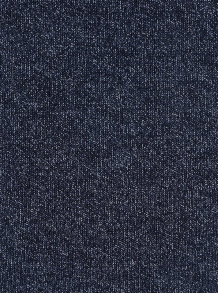 Tmavě modré žíhané svetrové šaty VILA Specific