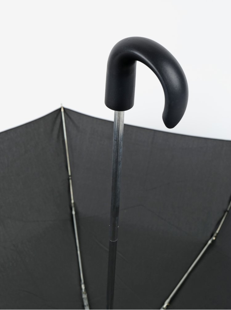 Umbrelă neagră pliabilă pentru bărbați RAINY SEASONS Gent