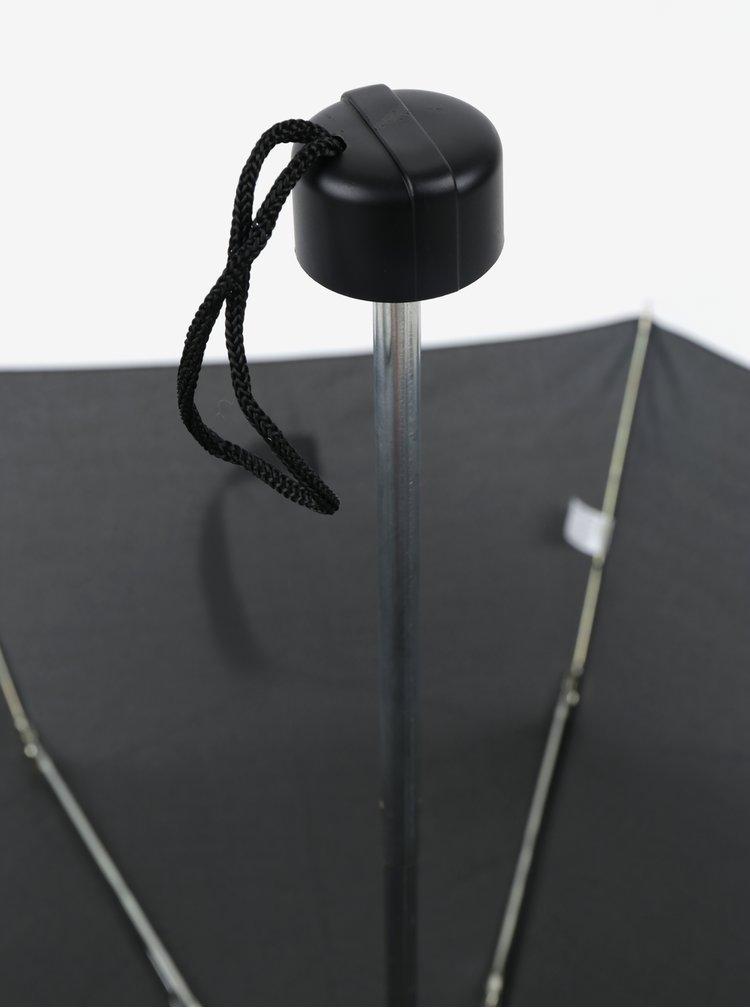 Černý skládací deštník RAINY SEASONS Section