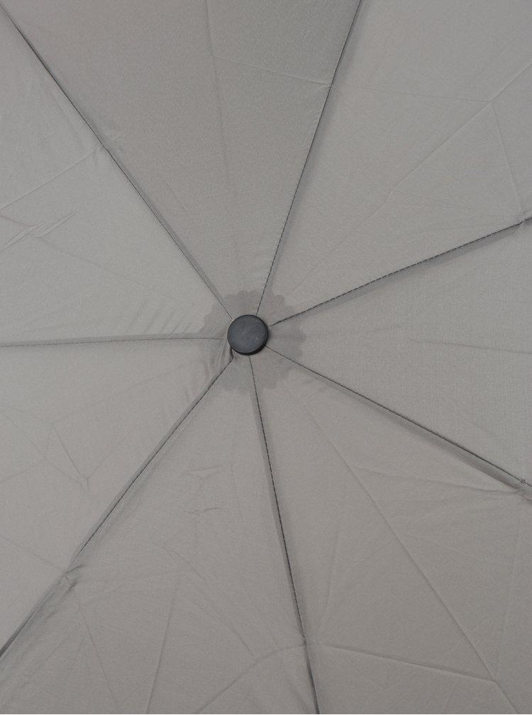 Umbrelă gri telescopică pentru femei RAINY SEASONS Moon