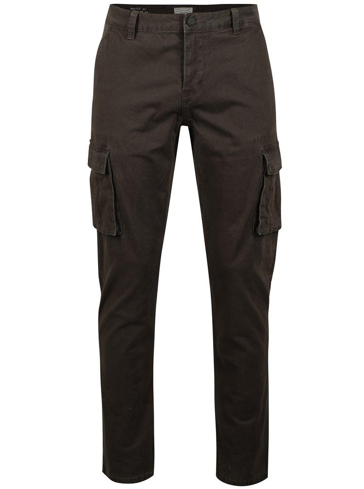 Tmavě šedé kalhoty s kapsami ONLY & SONS Kornelius