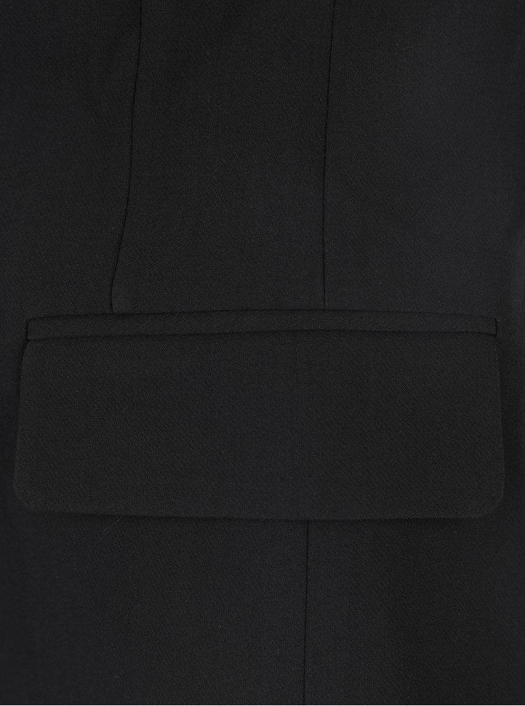 Černé sako s kapsami ONLY Nicole