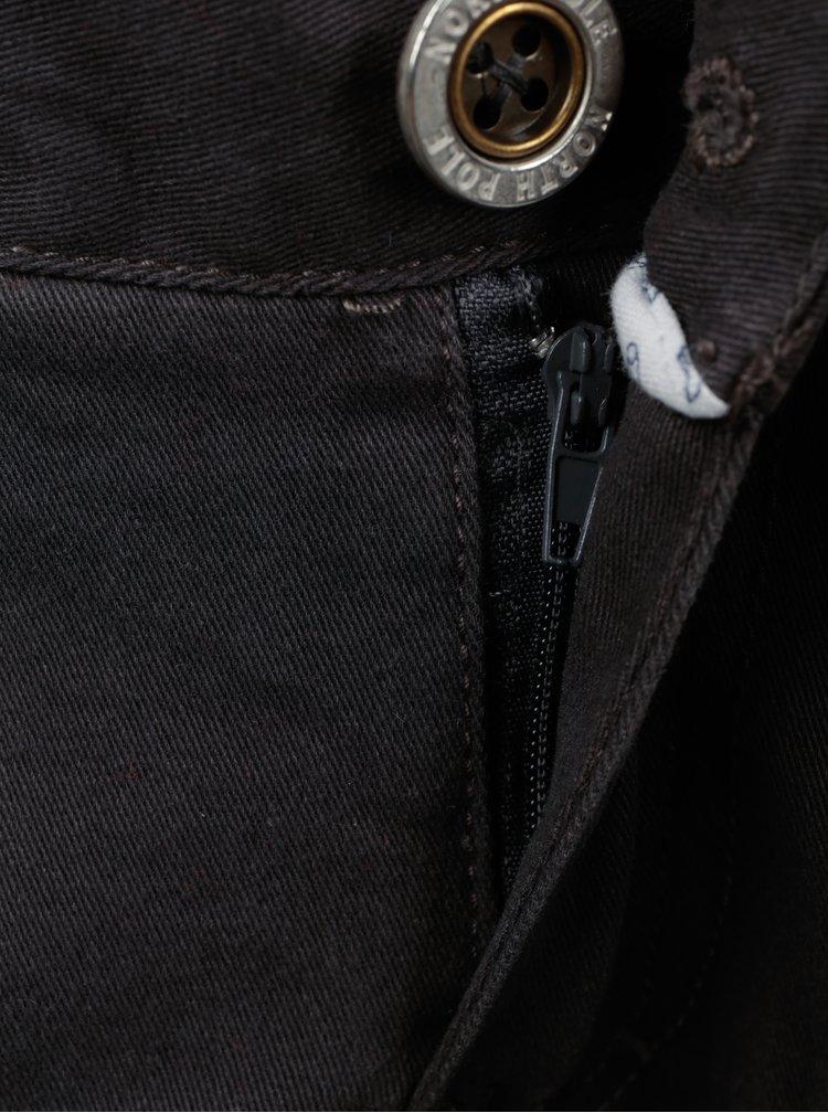 Tmavě šedé klučičí kapsáče North Pole Kids