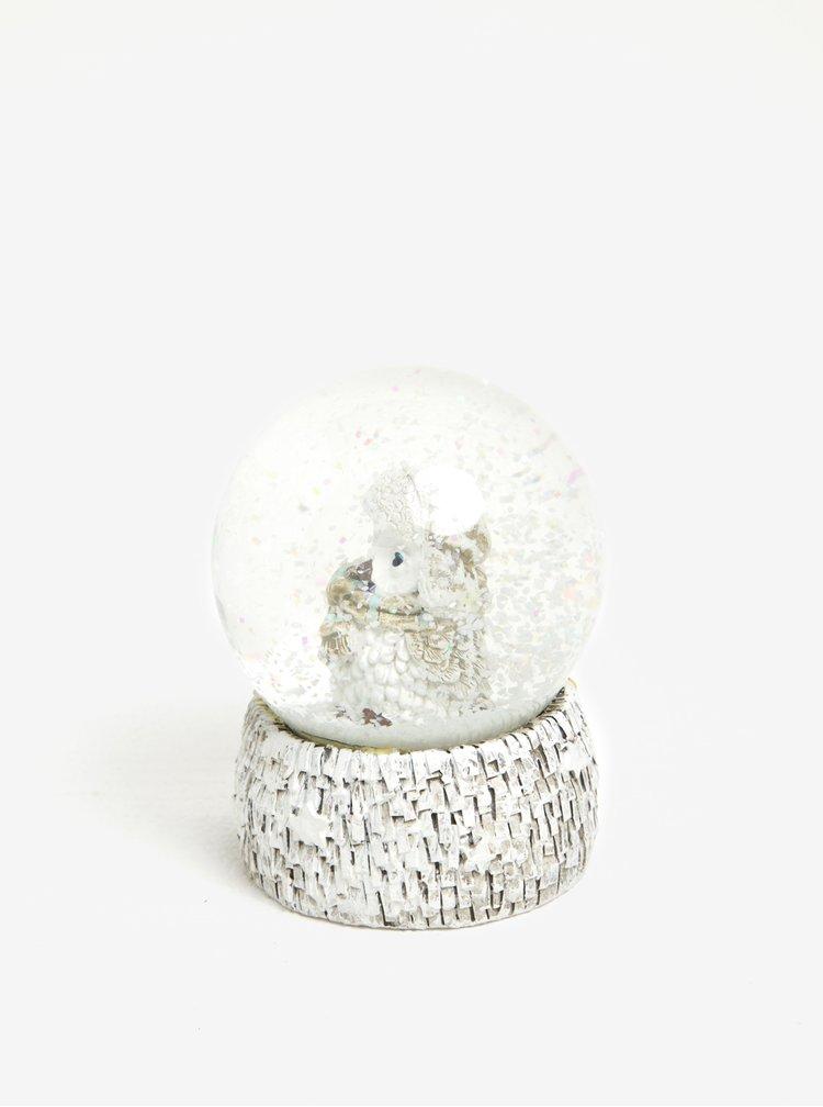 Bílé sněžítko se sovou Dakls