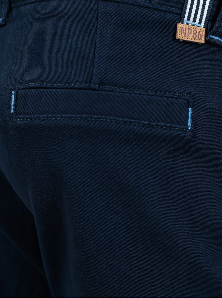 Tmavě modré klučičí kalhoty North Pole Kids