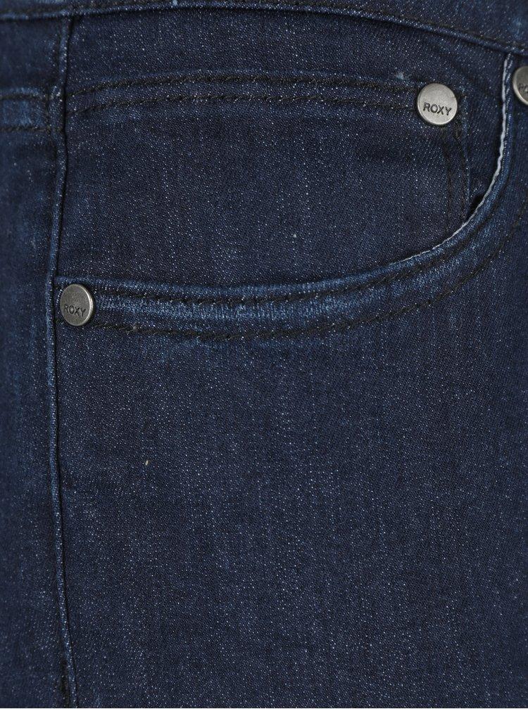 Tmavě modré dámské skinny džíny Roxy Suntrippers