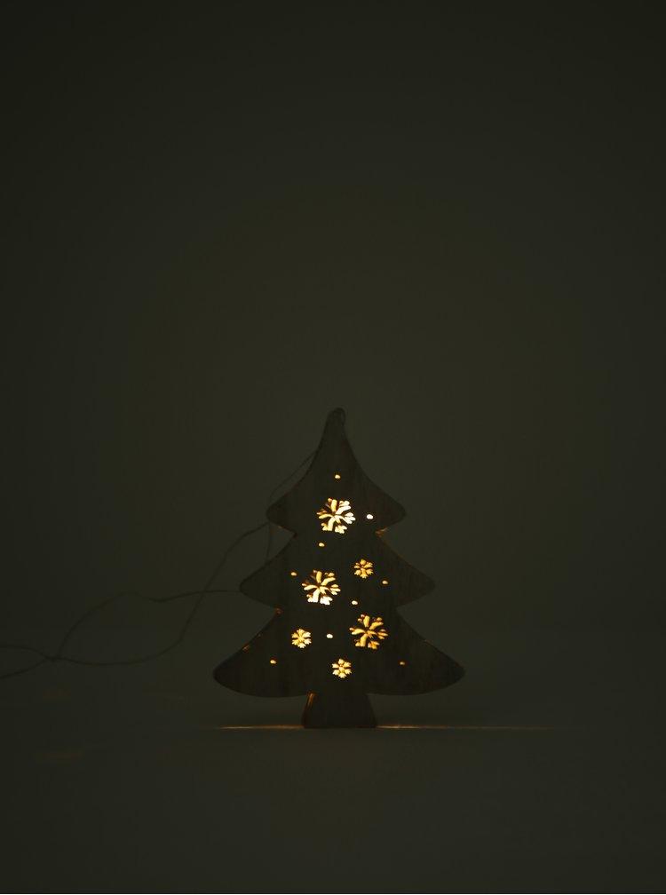 Závěsná svítící dekorace ve tvaru stromu Dakls