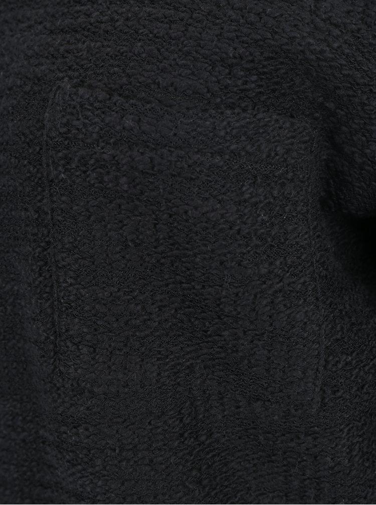 Rochie neagra cu decolteu dublu si cu siret pe spate - Roxy Oceanic