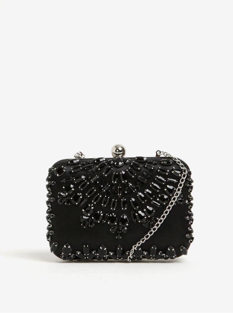 Geanta crossbody / de mana neagra cu pietre ornamentale Dorothy Perkins