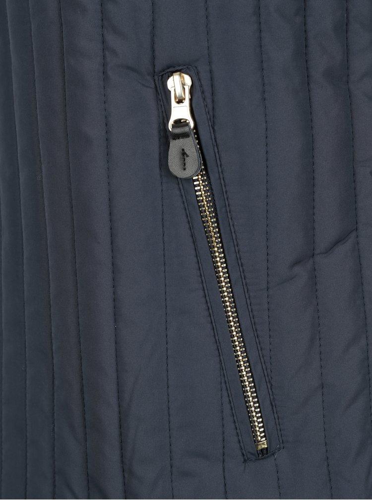 Tmavě modrá prošívaná bunda SUIT Ranger