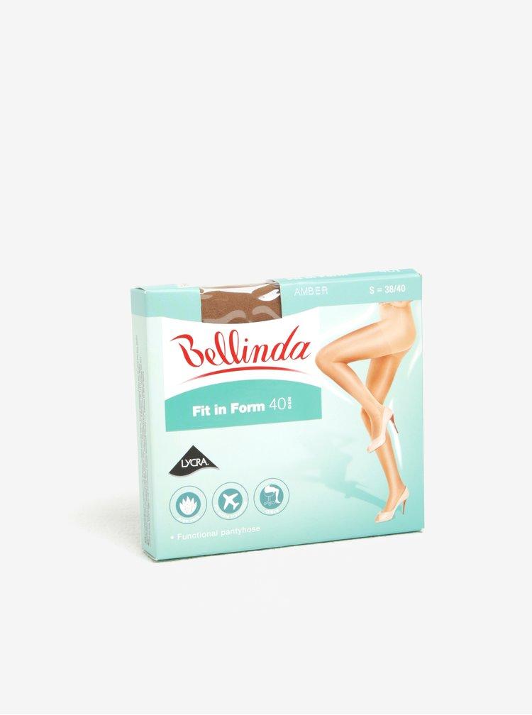 Tělové matné punčochové kalhoty Bellinda s intenzivní podporou pro namáhané nohy Fit in Form 40 den