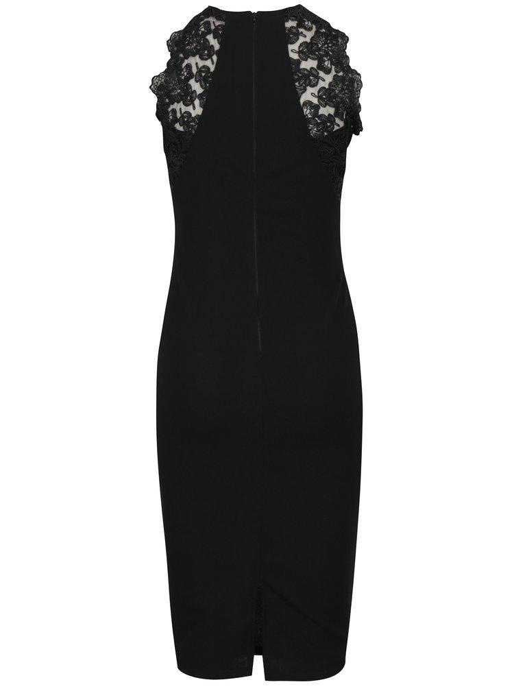 Černé pouzdrové šaty AX Paris