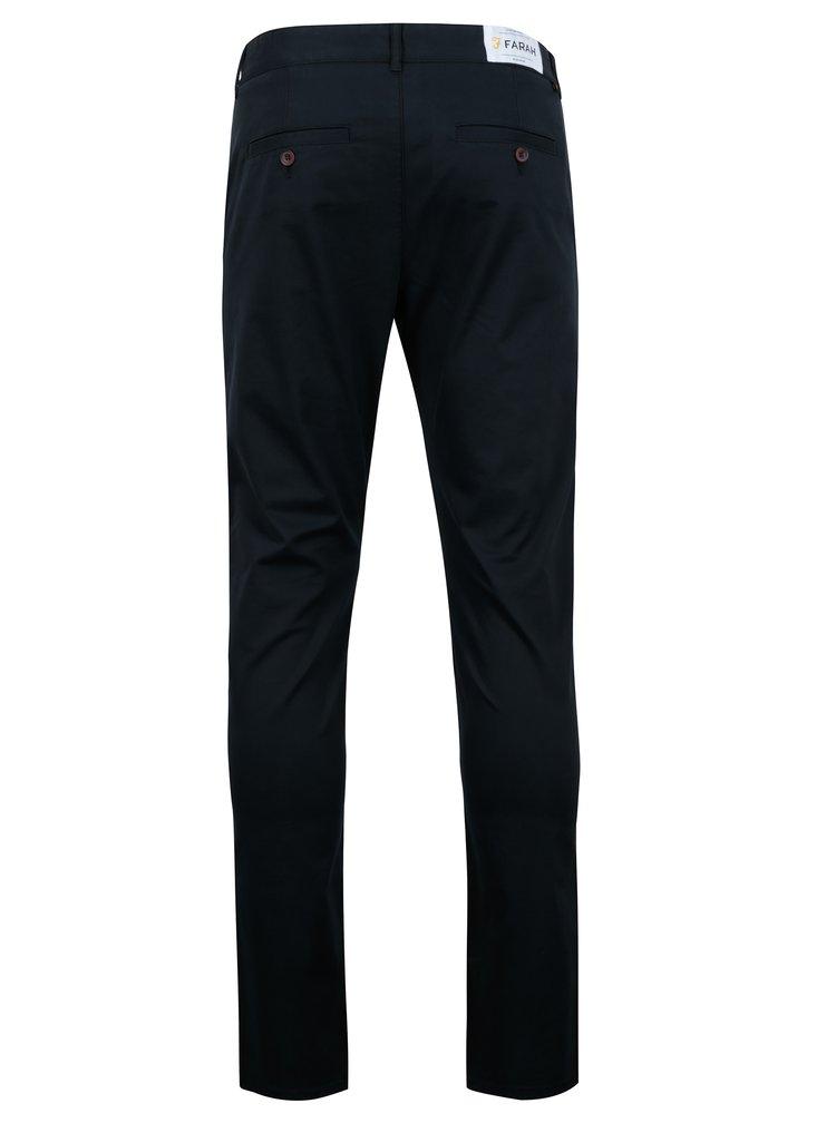 Pantaloni chino bleumarin - Farah Twill