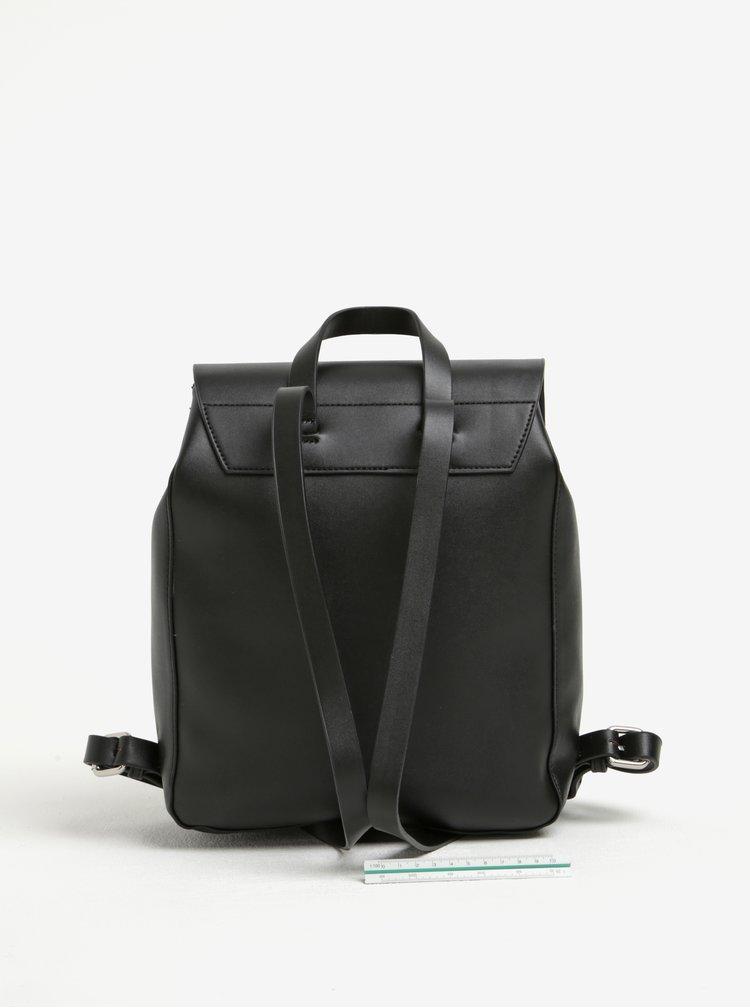 Rucsac negru elegant cu barete ajustabile- Pieces Rosetta