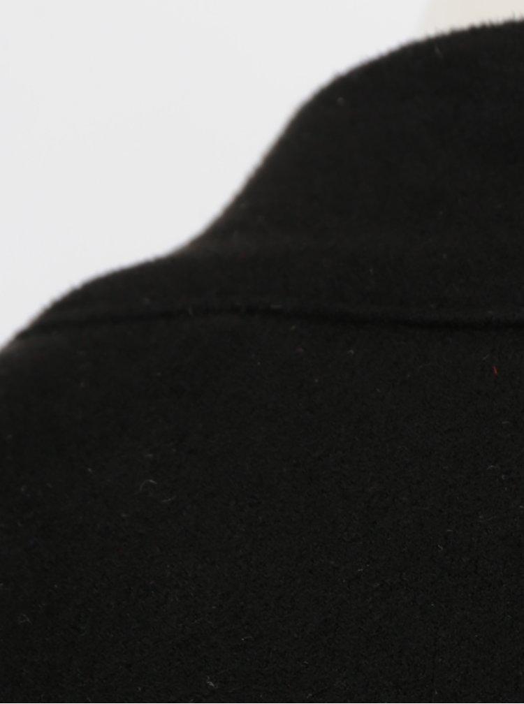 Černé minišaty v semišové úrpavě AX Paris