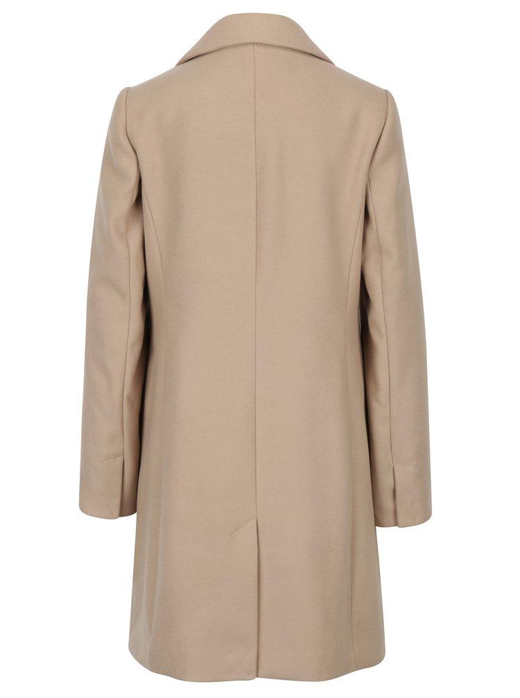 Béžový kabát s kapsami Dorothy Perkins