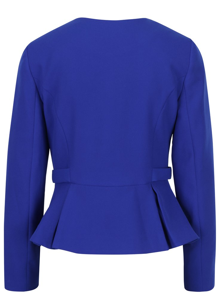 Modré sako na zip Dorothy Perkins
