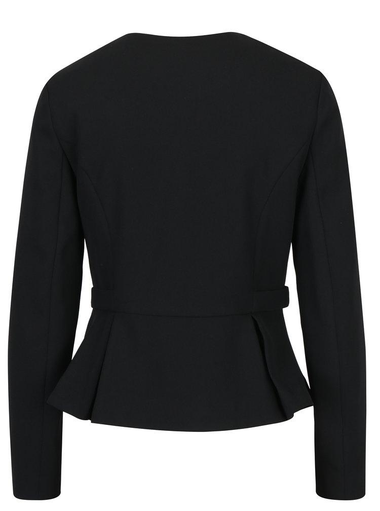 Černé sako na zip Dorothy Perkins