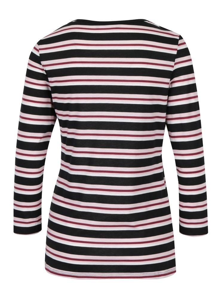 Bluza neagra&alb in dungi Dorothy Perkins